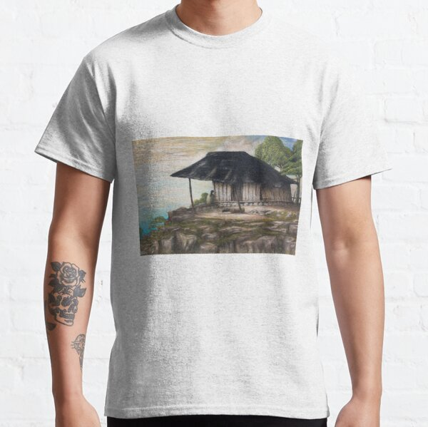 A Widow Living in Misery in the Little Hut Classic T-Shirt