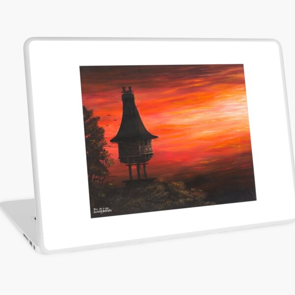 Terra do Sol Nascente / Land of the Rising Sun Laptop Skin