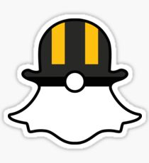 Ultra Ball Snapchat Logo Sticker