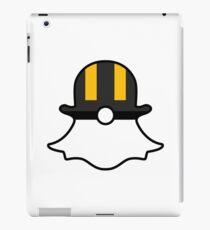 Ultra Ball Snapchat Logo iPad Case/Skin