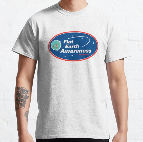 Flat Earth Awareness Classic T-Shirt
