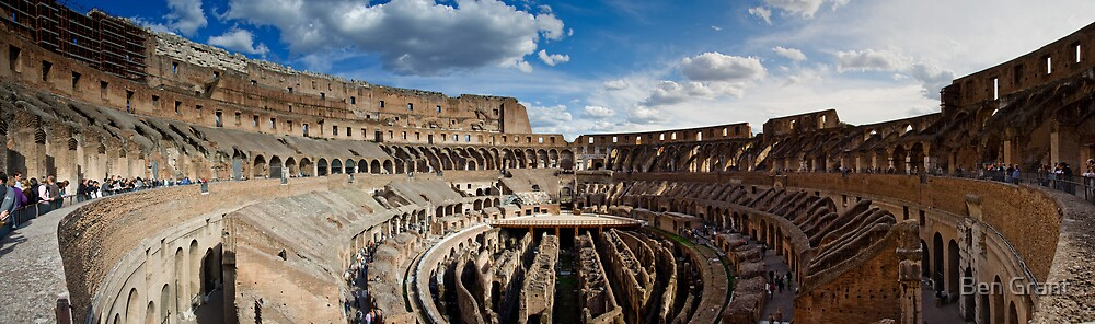 The Colosseum - Rome by Ben Grant