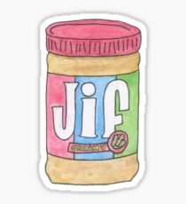 Creamy Peanut Butter Sticker