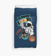 Astronaut  cereal Duvet Cover