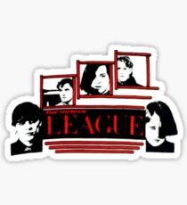 Human League retro shirt Dare Sticker