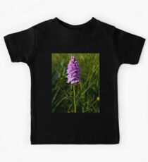 Spotted Orchid, Kilclooney, Donegal Kids Tee