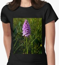Spotted Orchid, Kilclooney, Donegal Women's Fitted T-Shirt