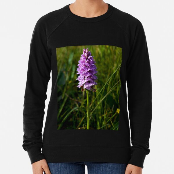 Spotted Orchid, Kilclooney, Donegal Lightweight Sweatshirt
