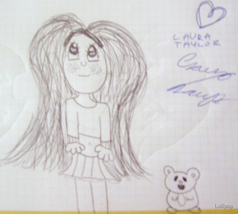Lil Girl and her Hamster by Lollipop