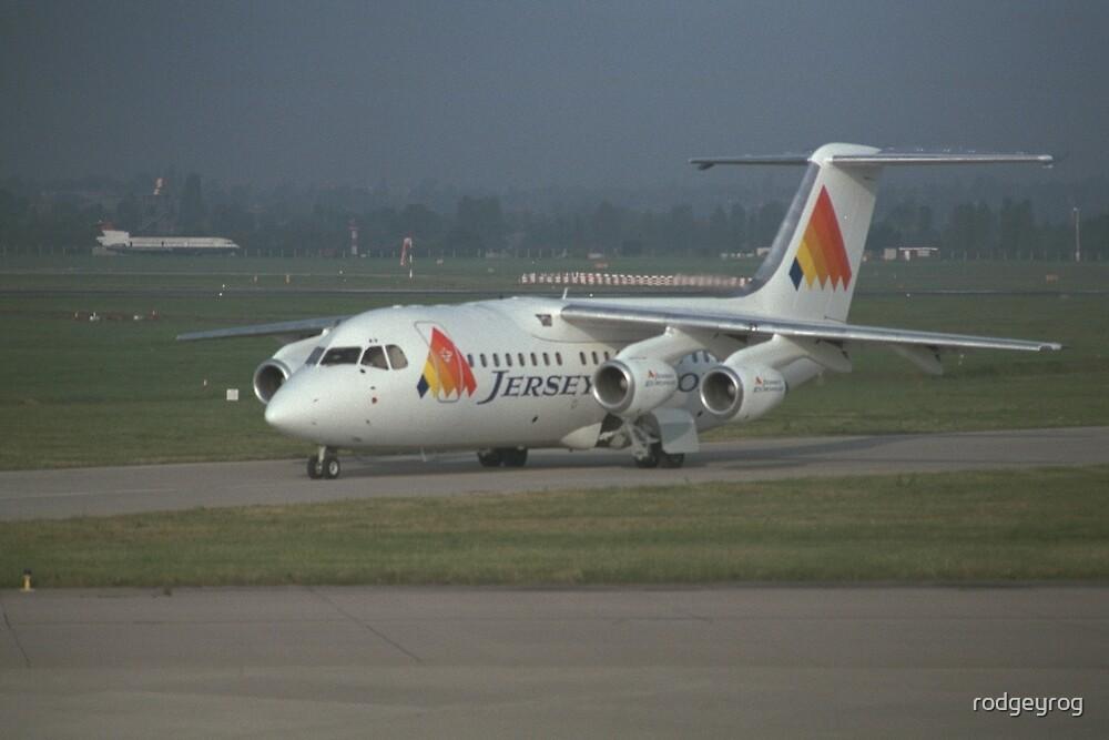 BAe 146 by rodgeyrog
