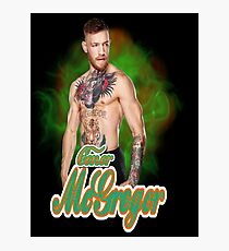 conor mcgregor  Photographic Print