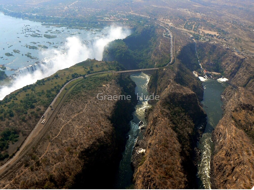 Victoria Falls and Zambezi Gorge by Graeme  Hyde