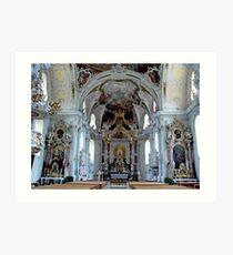 Wilten Basilica, Austria Art Print
