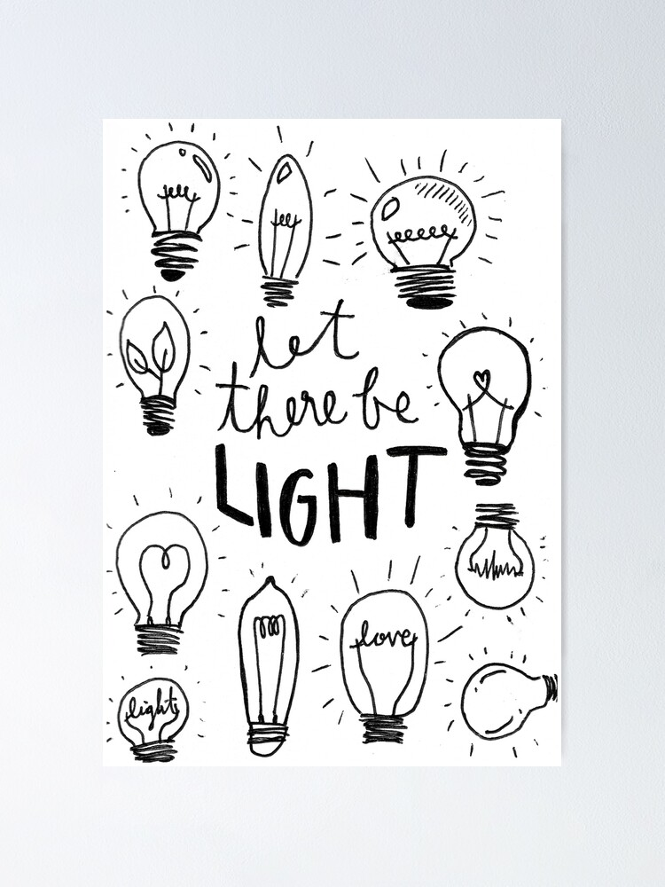 Let There Be Light Clip Art