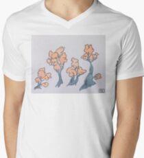 Orange blossoms  Men's V-Neck T-Shirt