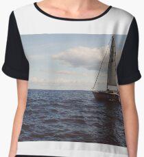 Sailboat Chiffon Top