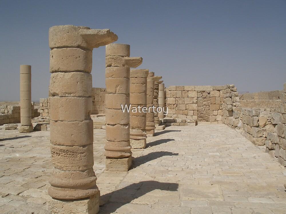 Israel Ruins by Watertoy