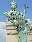 Szarvas Gabor Statue, Budapest by Graeme  Hyde