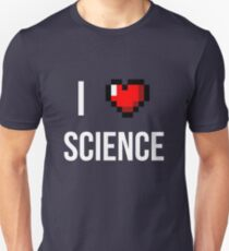 I heart science ver.whitetext Unisex T-Shirt