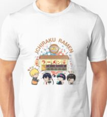 Naruto and Anime Friends Unisex T-Shirt