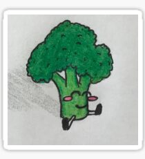 Broccoli Dude Sticker