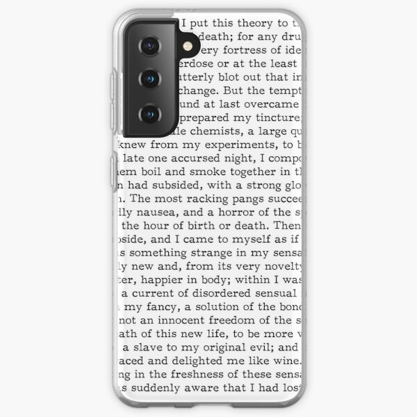 Dr Jekyll and Mr Hyde Samsung Galaxy Soft Case