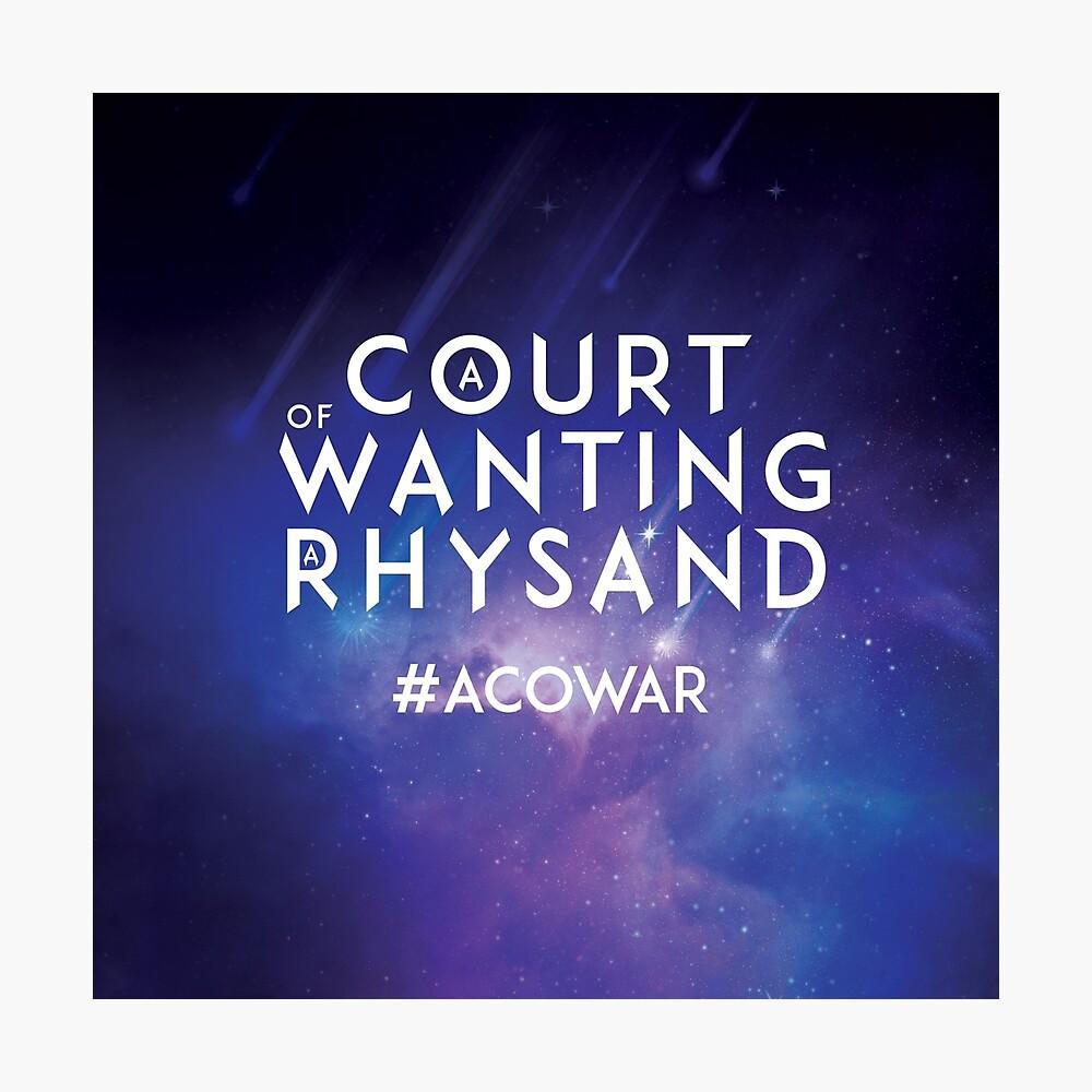 ACOWAR - Ein Gericht, das einen Rhysand will Fotodruck