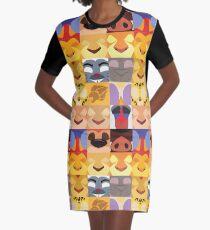 Lion Guard Minimalist T-Shirt Kleid