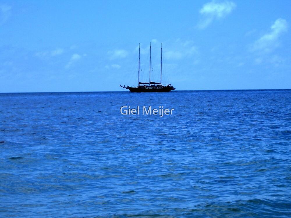 Boat by Giel Meijer