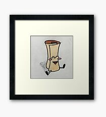 Scroll of Parchment Guy Framed Print