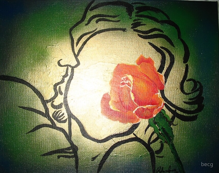 The Rose by becg