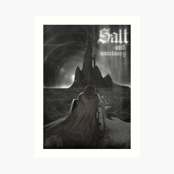 Salt and Sanctuary Print Art Print