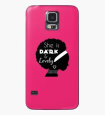 African American Woman With Scripture Case/Skin for Samsung Galaxy