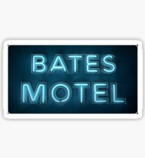 Bates Motel Sign Sticker Sticker