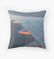 Sailing on Sun Rays  Throw Pillow