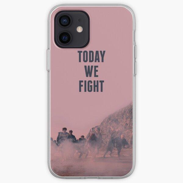 BTS Not Today - Today We Fight Funda blanda para iPhone