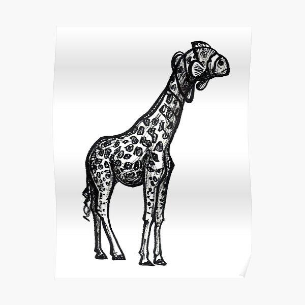 Giraffish Poster