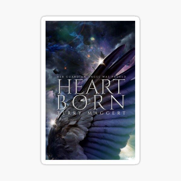 YA Fantasy Cover Art: Heartborn Sticker