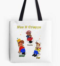 Snap Crackle pop Tote Bag
