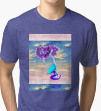 Thinking of nothing Tri-blend T-Shirt