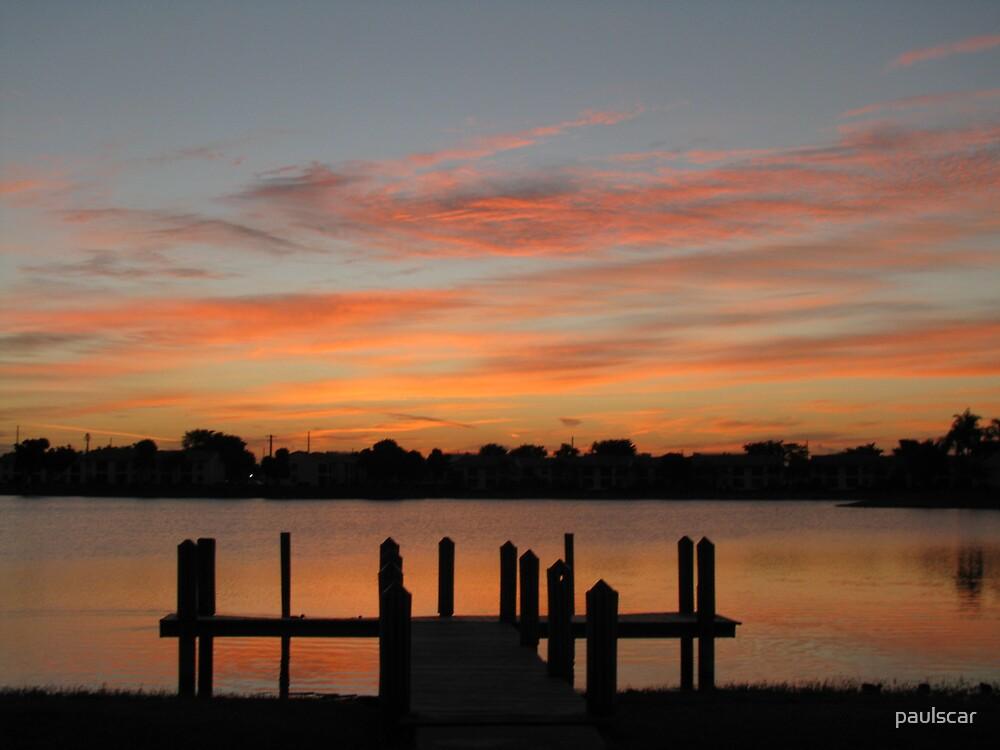 dock sunrise by paulscar