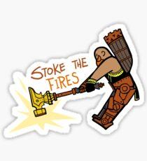 Smite - Stoke the Fires (Chibi) Sticker