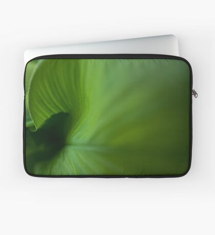 Wave of Green Laptop Sleeve