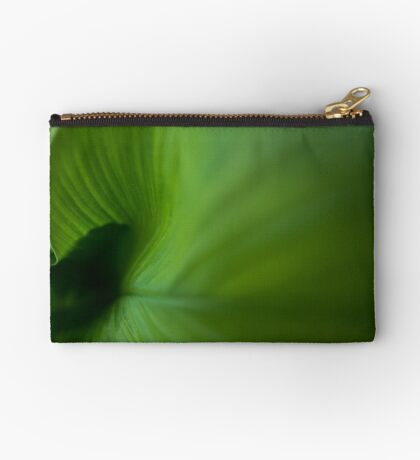 Wave of Green Studio Pouch