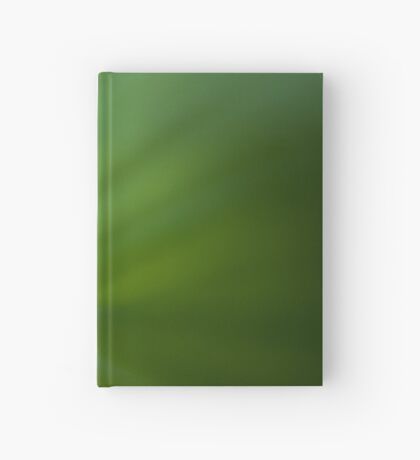 Wave of Green Hardcover Journal