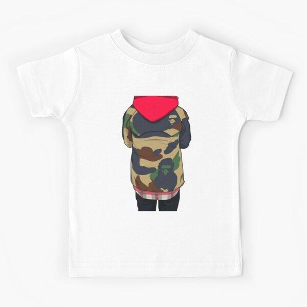 Bape y niño Camiseta para niños