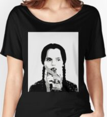 Wednesday Addams Women's Relaxed Fit T-Shirt