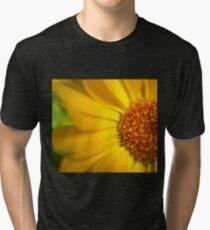 Macro Calendula Tri-blend T-Shirt