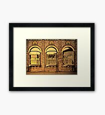 Inner City Lifestyle #2 Framed Print