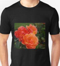 Flame orange rose T-Shirt
